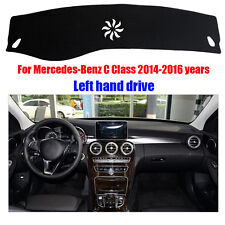 For Benz C Class 2014-2016 FLY5D DashMat Dashboard Mat Dash Board Cover Car Mat