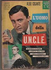 L' UOMO DELLA U.N.C.L.E. 4 cenisio 1968 OPERAZIONE UNCLE organizzazione man from