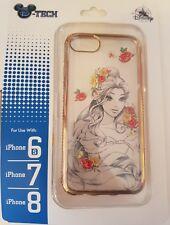 Disneyland Paris iPhone case / Coque BELLE / Beauty FLOWER iPhone 6s / 7 / 8