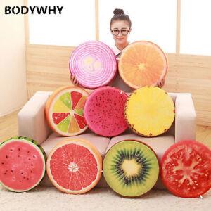 Plush toy doll cute fruit doll cushion watermelon cushion child doll bed pillow