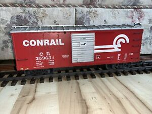 USA Trains/Charles Ro G Scale Conrail Red Boxcar #359031, C-5.