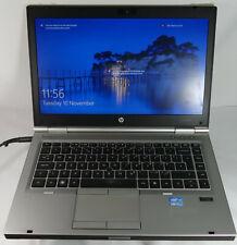 "HP EliteBook 8460p 14""inch Laptop Core i5 6GB RAM 500GB HDD Windows 10 Pro"