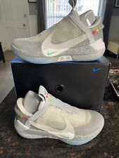 Nike Adapt BB Mag Wolf Grey Back to The Future Self Lacing Size 10.5 AO2582 002