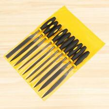 Needle File Set (HIGHEST QUALITY 10 PIECE SET) Hardened Alloy Strength Steel New