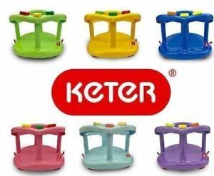 Safety Chair Anti Slip Bath Ring Baby Seat Tub Keter Infant Toddler Original