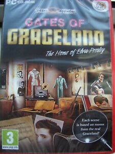 GATES OF GRACELAND---THE HOME OF ELVIS PRESLEY--HIDDEN OBJECT--PC CD---BRAND NEW