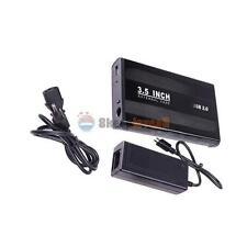 USB 2.0 HDD Hard Drive External Enclosure 3.5 Inch SATA HDD Case Laptop Disk Box