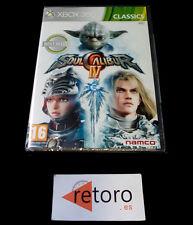 SOUL CALIBUR IV 4 Microsoft Xbox 360 PAL Español NEW Precintado NAMCO NUEVO Seal