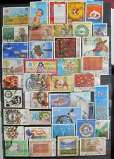 456-20  40 Used Commemorative Pakistan Stamps