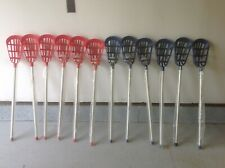 New. Champion Sports Soft Lacrosse Set - 12 Sticks 6 Balls Laxsr Free Shipping