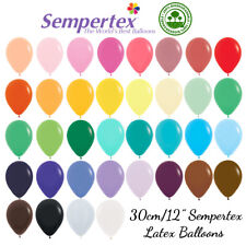 "30CM/12"" LATEX BALLOONS PACK OF 10 SEMPERTEX BIRTHDAY PARTY WEDDING 40+ COLOURS"