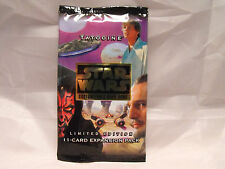 STAR WARS CCG TATOOINE BLACK BORDER SEALED BOOSTER PACK OF 15 CARDS