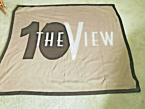 TELEVISION SHOW THE VIEW ANNIVERSAY BLANKET