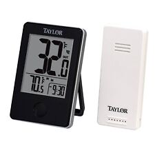 Lcd Weather Thermometer Wireless Digital Thermometers Camping Remote Sensor