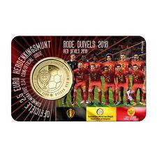 BELGIË I 2018 - 2,50 € - RODE DUIVELS/DIABLES ROUGES - in coincard - BU!
