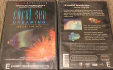 CORAL SEA DREAMING OOP RARE DELETED REGION 4 PAL DVD DOCUMENTARY NATURE FILM