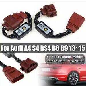 Boitiers Clignotant Audi A4 S4 RS4 B8 Arrière semi Sequentiel Dynamique Module
