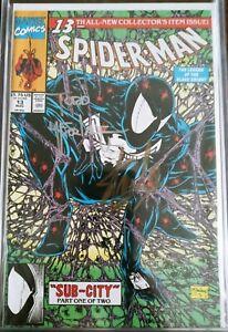 Spider-man #13.  *2X Signed* Stan Lee & Todd McFarlane.  Marvel comics.