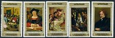 Yemen 1967 Flemish Masters paintings MNH