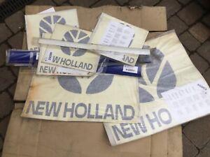 NEW HOLLAND TRACTOR DEALERSHIP SERVICE VAN DECALS GENUINE, WORKSHOP MANUAL