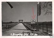 10425/ Originalfoto 9x6cm, Major-Friedrich Brücke über den San, Mai 1941
