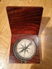 Coffret vintage boussole  compass