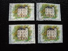 LUXEMBOURG - timbre yvert et tellier n° 1366 x4 obl (A30) stamp