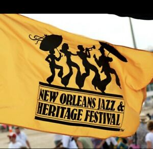 Original New Orleans Jazz Fest Flag