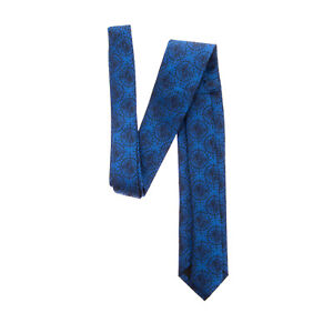 RRP €130 RICHMOND Silk Jacquard Necktie Skinny Fully Lined Made in Italy
