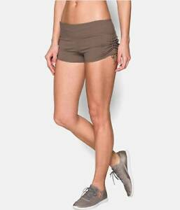 UNDER ARMOUR UA Studio Retreat Women's Studio Shorts Style #1258719 SIZE L