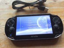 SONY PS VITA CONSOLE WIFI ONLY PCH-1004 PLAYSTATION PSVITA OLED WI-FI USED 3.36