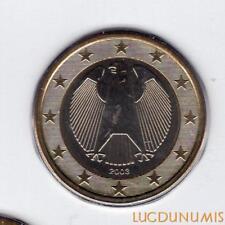 Allemagne 2003 1 Euro G Karlsruhe BU FDC provenant coffret 180000 exemplaires -