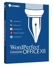 Corel WordPerfect Office X8 Standard - New Retail Box