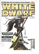 WHITE DWARF N°211 RESURRECTION DES NECRONS / GALERIE 'EAVY METAL / TACTICA