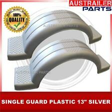 """2 X 13"""" SILVER SINGLE  PLASTIC GUARD WITH STEP AND COVER"""