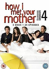 How I Met Your Mother Complete Series 4 DVD All Episodes Fourth Season UK Rel R2