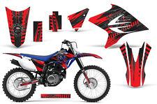 Dirt Bike Decal Graphics Kit Sticker Wrap For Yamaha TTR230 2005-2018 NUKE RED