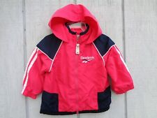Reebok Hoodie Hooded Jacket Coat Baby Girls Clothes Size 12 mos