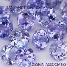 TANZANITE  ROUND  NATURAL GEMSTONE LOT  1.5 MM GEMSTONES 30 PCS