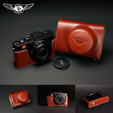 Handmade Genuine real Leather Full Camera Case Camera bag Cover for Leica D-LUX6