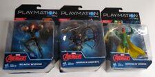 Lot of 3: Playmation Marvel Avengers Vision,Black Widow,Hawkeye Figures