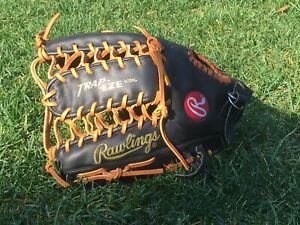 Rawlings PRO-TB24 Heart Hide HOH Griffey Baseball Glove Mitt LHT TRAP-EZE USED