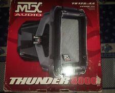 "MTX thunder 8000 T812S-44 SUB SUBWOOFER 12"" QUADRATO SoloBaric"