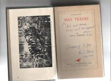 "ION IDRIESS ""NATIONAL EDITION 'MAN TRACKS' VOL VIII 'SIGNED BY AUTHOR"