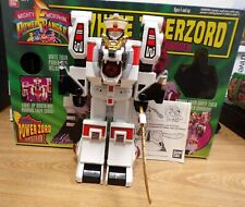 Mighty Morphin Power Rangers White Tigerzord Bandai 2271 Figure w/ Original Box