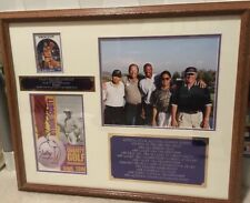 Byron Scott Autograph Valley Building Golf Tournament Framed Collage Collectible