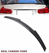 BMW 3 SERIES E90 SALOON V STYLE REAR TRUNK BOOT SPOILER REAL CARBON FIBRE 06-12