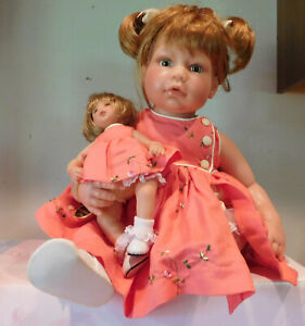 Lee Middleton Reva Schick Just Like Mommy Dolls Near Mint with Box & Tag