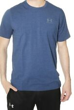 Under Armour 2019 CC Chest Lockup T-shirt Size Small - Blackout Navy