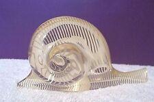 Vintage Abraham Palatnik Acrylic Lucite Snail Figurine Sculpture Pal Brazil 866